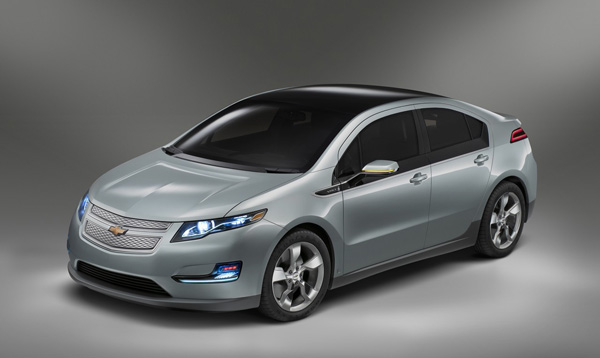 Chevrolet Volt Production Front