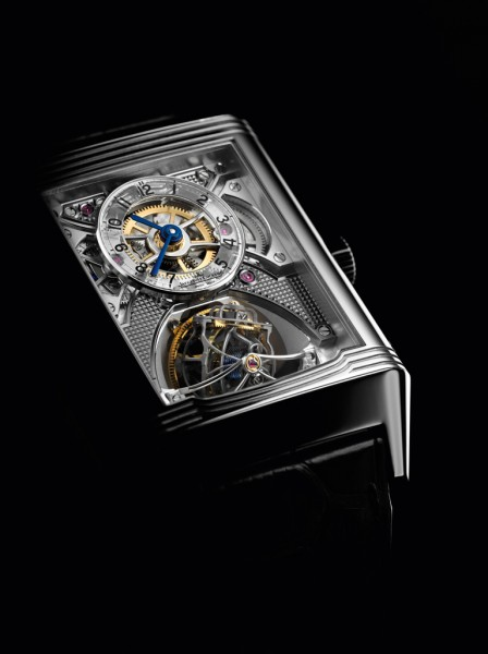 The Jaeger-LeCoultre Gyrotourbillon II from the front.